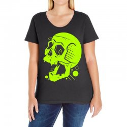 Toxic Scream Ladies Curvy T-Shirt | Artistshot
