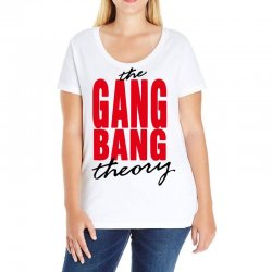the gang bang theory Ladies Curvy T-Shirt | Artistshot