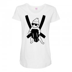 hangover baby Maternity Scoop Neck T-shirt | Artistshot