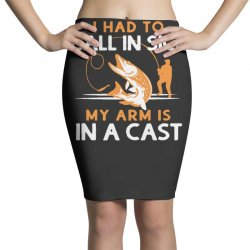 arm in cast Pencil Skirts | Artistshot