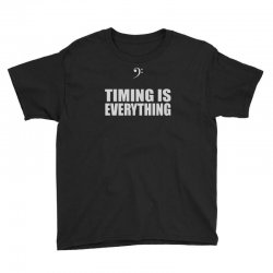 bass player timing is everything Youth Tee | Artistshot