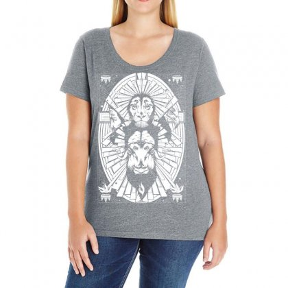 Eye Of The King Ladies Curvy T-shirt Designed By Specstore