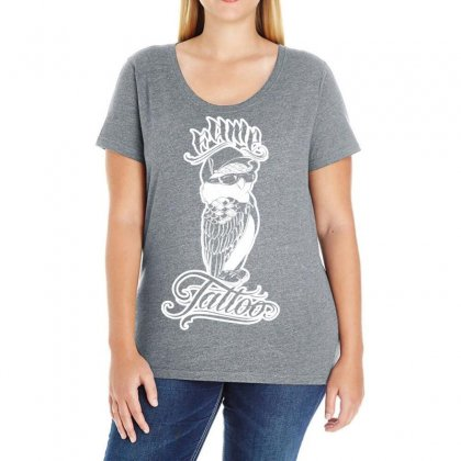Fame Tattoo Ladies Curvy T-shirt Designed By Specstore