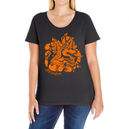 Ganesh Ladies Curvy T-shirt Designed By Specstore