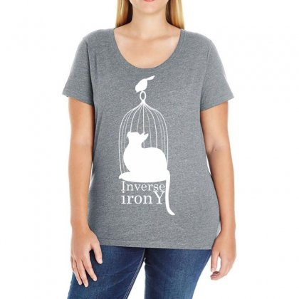 Inverse Irony Ladies Curvy T-shirt Designed By Specstore