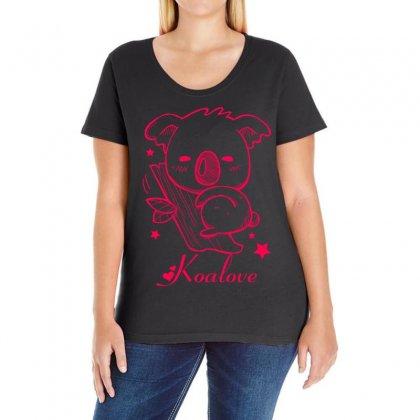 Koalove Ladies Curvy T-shirt Designed By Specstore