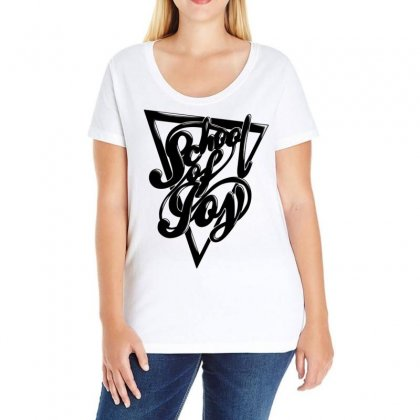 Schoo Lof Joy Ladies Curvy T-shirt Designed By Specstore