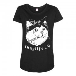 thug cat Maternity Scoop Neck T-shirt | Artistshot