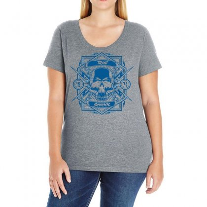True School Ladies Curvy T-shirt Designed By Specstore