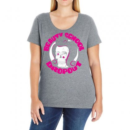 Beauty School Dropout Ladies Curvy T-shirt Designed By Specstore