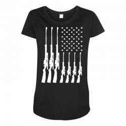 american guns can't ban these Maternity Scoop Neck T-shirt | Artistshot