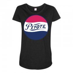 peyote pepsi Maternity Scoop Neck T-shirt | Artistshot