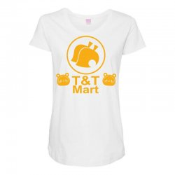 animal crossing t & t mart Maternity Scoop Neck T-shirt | Artistshot