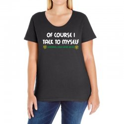 geek expert advice   science   physics   nerd t shirt Ladies Curvy T-Shirt | Artistshot