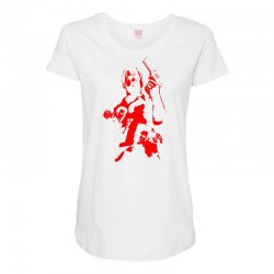 Custom Red Max Payne Women S Triblend Scoop T Shirt By Specstore