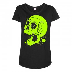 Toxic Scream Maternity Scoop Neck T-shirt | Artistshot