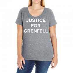 Justice For Grenfell Ladies Curvy T-Shirt | Artistshot