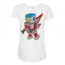 dub politics bot Maternity Scoop Neck T-shirt | Artistshot