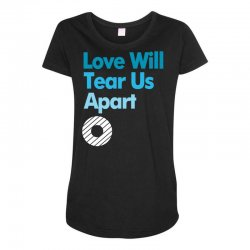 Love Will Never Tear Us Apart Maternity Scoop Neck T-shirt | Artistshot