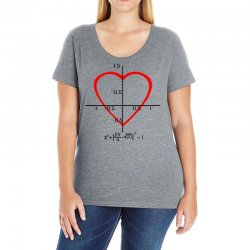 geek love shirt Ladies Curvy T-Shirt | Artistshot