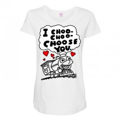 i choo choo choose you Maternity Scoop Neck T-shirt | Artistshot
