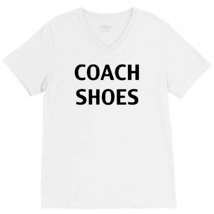 Coach Shoes V-neck Tee Designed By Riksense