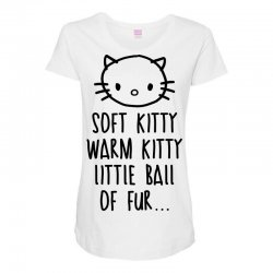 weird kitty Maternity Scoop Neck T-shirt | Artistshot