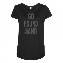 go pound sang Maternity Scoop Neck T-shirt | Artistshot