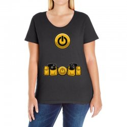 geek utility belt Ladies Curvy T-Shirt | Artistshot