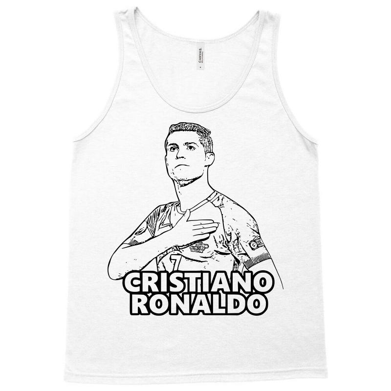 Cristiano Ronaldo 3 Tank Top By Artistshot