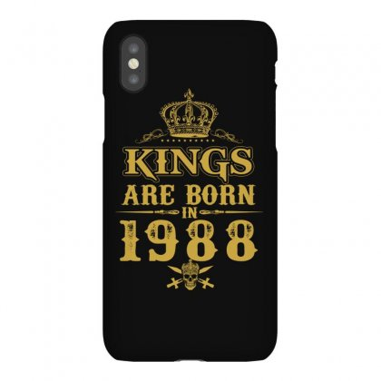 Kings Are Born In 1988 Iphonex Case Designed By Dang Minh Hai