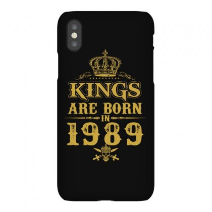 Kings Are Born In 1989 Iphonex Case Designed By Dang Minh Hai