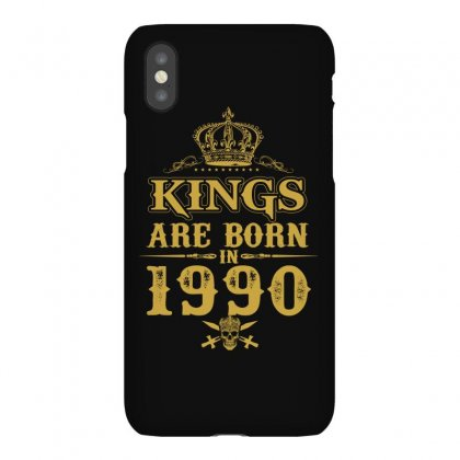 Kings Are Born In 1990 Iphonex Case Designed By Dang Minh Hai