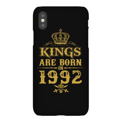 Kings Are Born In 1992 Iphonex Case Designed By Dang Minh Hai