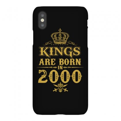 Kings Are Born In 2000 Iphonex Case Designed By Dang Minh Hai