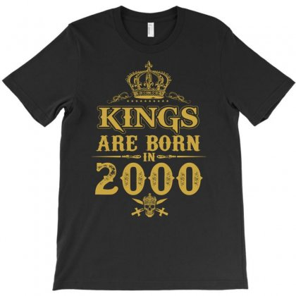 Kings Are Born In 2000 T-shirt Designed By Dang Minh Hai