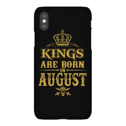 Kings Are Born In August Iphonex Case Designed By Dang Minh Hai
