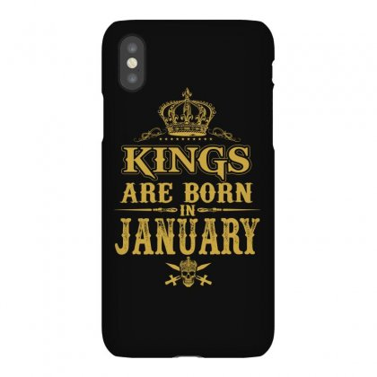Kings Are Born In January Iphonex Case Designed By Dang Minh Hai