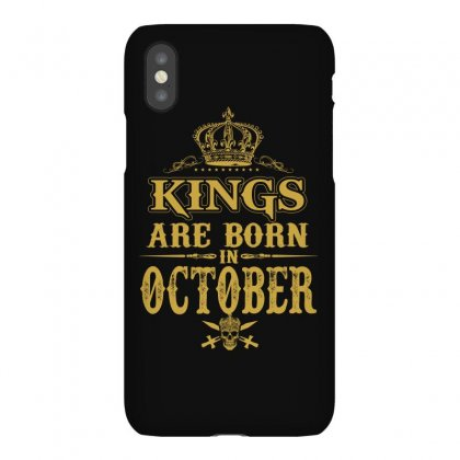 Kings Are Born  October Iphonex Case Designed By Dang Minh Hai