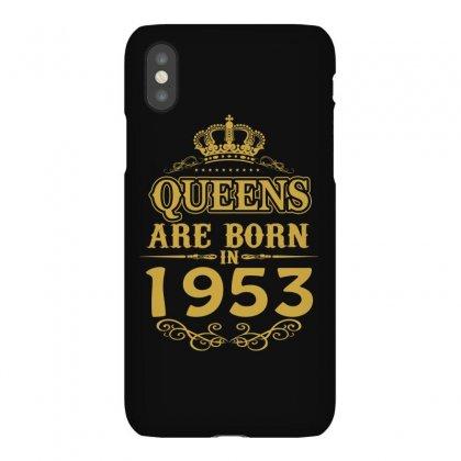 Queens Are Born In 1953 Iphonex Case Designed By Dang Minh Hai