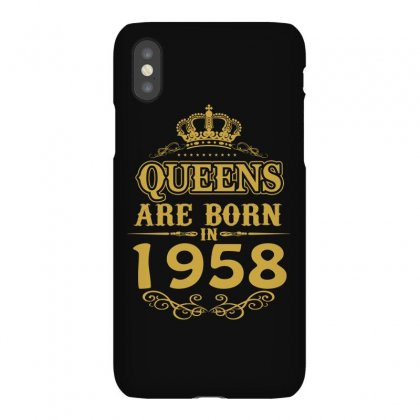Queens Are Born In 1958 Iphonex Case Designed By Dang Minh Hai