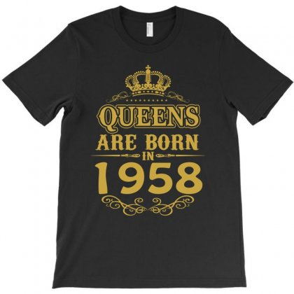 Queens Are Born In 1958 T-shirt Designed By Dang Minh Hai