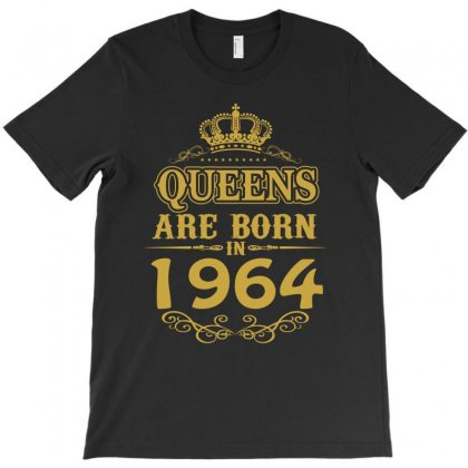 Queens Are Born In 1964 T-shirt Designed By Dang Minh Hai