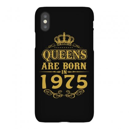 Queens Are Born In 1975 Iphonex Case Designed By Dang Minh Hai