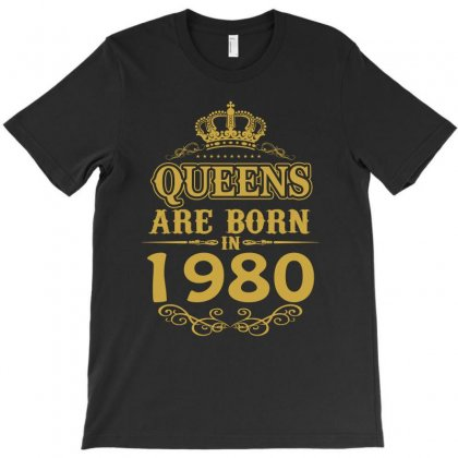 Queens Are Born In 1980 T-shirt Designed By Dang Minh Hai