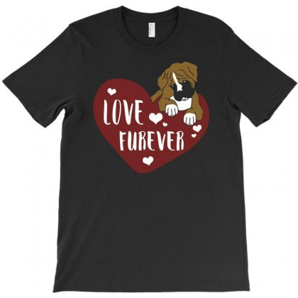 Love Furever T-shirt Designed By Riksense