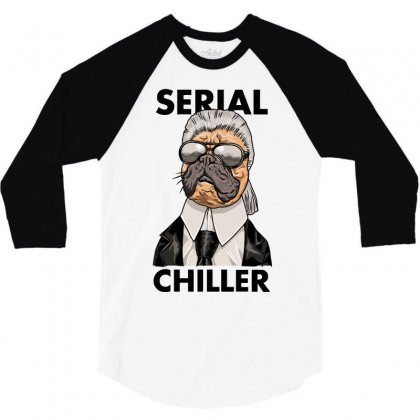 Serial Chiller 3/4 Sleeve Shirt Designed By Riksense