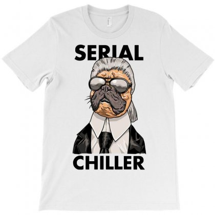 Serial Chiller T-shirt Designed By Riksense