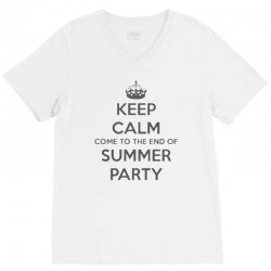summer party V-Neck Tee | Artistshot