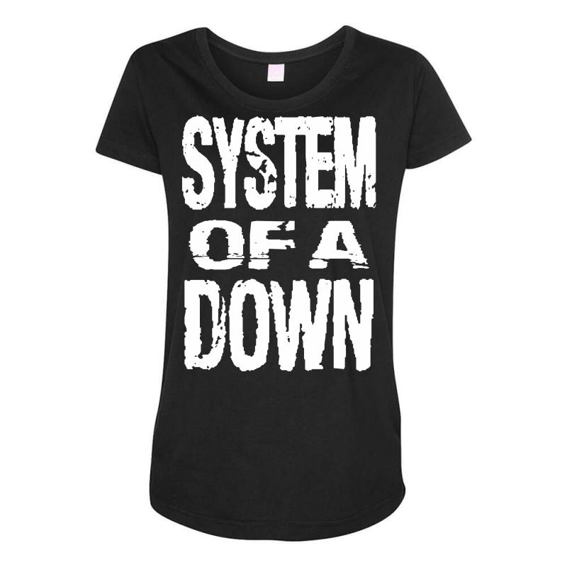 System Of A Down Soad Maternity Scoop Neck T-shirt | Artistshot